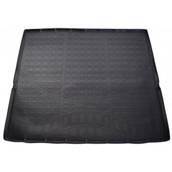 Коврик багажника NORPLAST резиновый (полиуретан) для Cadillac Escalade (сложенный 3 ряд)