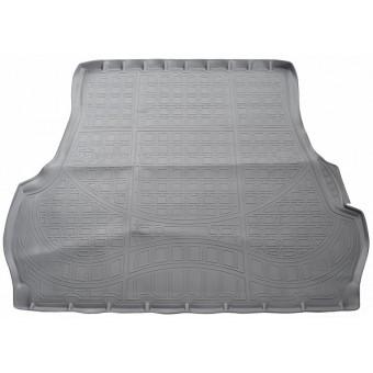 Коврик багажника NORPLAST резиновый (полиуретан) для Toyota Landcruiser 200, цвет серый (для 5-ти местного) с 2012 г.-