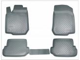 Коврики NORPLAST резиновые для Toyota Landcruiser Prado 150, цвет серый