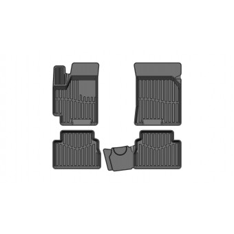 """Коврики в салон для Chevrolet Aveo, резиновые """"3D PREMIUM"""" (2012-2015)"""