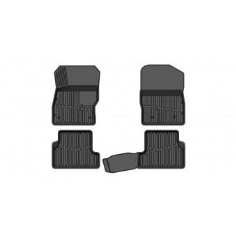 """Коврики в салон для Ford Focus 3, резиновые """"3D PREMIUM"""""""