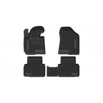 """Коврики в салон для Hyundai iX 35, резиновые """"3D PREMIUM"""""""