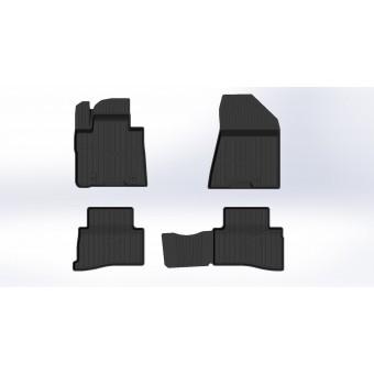 """Коврики в салон для Hyundai TUCSON, резиновые """"3D PREMIUM"""""""