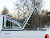 Защита кузова 76 мм для Volkswagen Amarok, полир. нерж. сталь для мод. с 2017 г.