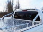 Защита кузова 75 х 42 мм, полир. нерж. сталь для мод. с 2017 г.