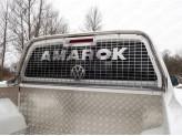 Защита кабины и заднего стекла 75 х 42 мм, полир. нерж. сталь для мод. с 2017 г.