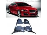 """""""Кожаные"""" коврики для Jaguar XF в салон, цвет черный"""