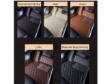 """""""Кожаные"""" коврики для Kia Sportage в салон, цвет черный, изображение 2"""