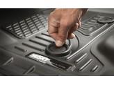 Коврики Husky liners для Cadillac Escalade ESV 3-го ряда в салон WeatherBeater™, цвет бежевый, изображение 2