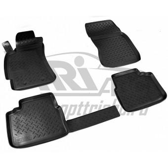 Коврики NORPLAST резиновые (полиуретан) для Subaru Forester, цвет черный