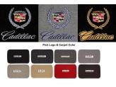 """Текстильные коврики для Cadillac Escalade в салон """"Classic"""" из 3 частей ( 1-ый и 2-ой ряд), изображение 2"""