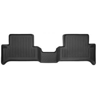 Коврики Husky liners для Nissan Pathfinder «Classic Style» в салон задние, цвет черный (фото может не соответствовать оригинальной форме конфигурации пола)