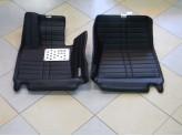 """""""Кожаные"""" коврики из высокосортного полиуретана для BMW X5 в салон, цвет черный, изображение 4"""