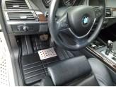 """""""Кожаные"""" коврики из высокосортного полиуретана для BMW X5 в салон, цвет черный, изображение 2"""