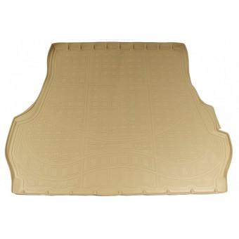 Коврик багажника NORPLAST резиновый (полиуретан) для Toyota Landcruiser 200, цвет бежевый (для 5-ти местного) с 2012 г.-