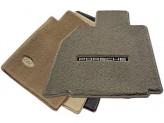 """Текстильные коврики для BMW X6  в салон """"LUXE"""" из 3 частей"""