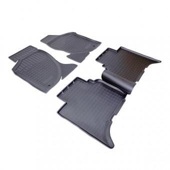 Коврики NORPLAST резиновые (полиуретан) для Great Wall Hover, цвет черный