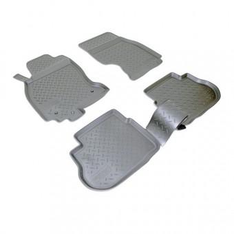 Коврики NORPLAST резиновые (полиуретан) для Infiniti FX35/45, цвет черный