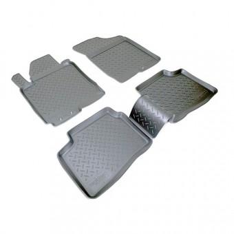 Коврики NORPLAST резиновые (полиуретан) для Kia CEED, цвет черный