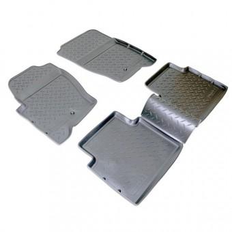 Коврики NORPLAST резиновые (полиуретан) для Range Rover Sport, цвет черный
