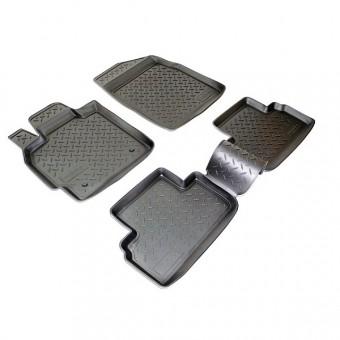 Коврики NORPLAST резиновые (полиуретан) для Mazda CX 7, цвет черный (2006-2012 г.)