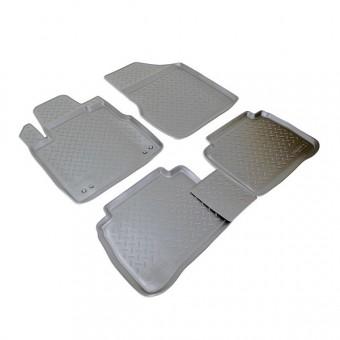 Коврики NORPLAST резиновые (полиуретан) для Nissan Murano, цвет черный