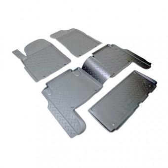 Коврики NORPLAST резиновые (полиуретан) для Nissan Patrol Y62