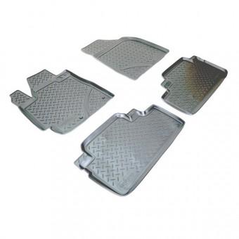 Коврики NORPLAST резиновые (полиуретан) для Kia Sportage, цвет черный