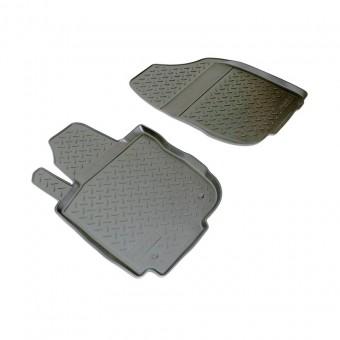Коврики NORPLAST резиновые (полиуретан) передние для Toyota RAV4, цвет черный