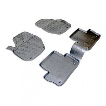 Коврики NORPLAST резиновые (полиуретан) для Volvo XC-60, цвет черный