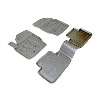 Коврики NORPLAST резиновые (полиуретан) для Volvo XC 90, цвет черный