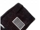 Коврики салона для черные с металлическим подпятником