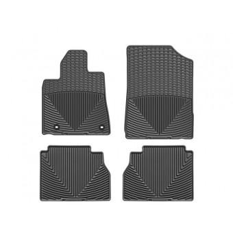 Коврики WEATHERTECH для Toyota TUNDRA, резиновые, цвет черный.