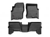 Коврики WEATHERTECH для Nissan Pathfinder передние, цвет черный
