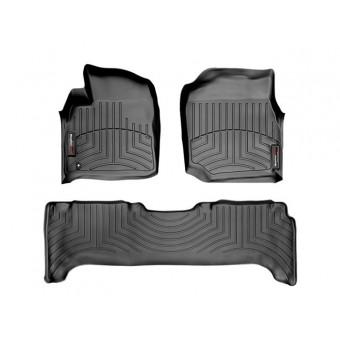 Коврики WEATHERTECH для Toyota Landcruiser J100 VX, цвет черный