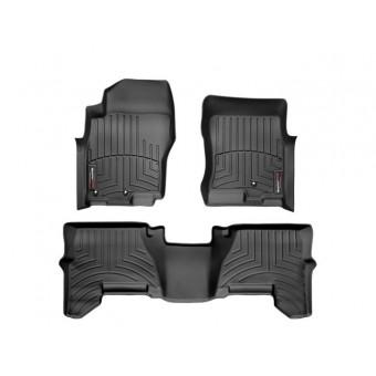 Коврики WEATHERTECH для Nissan Pathfinder, цвет черный (для авто из USA)