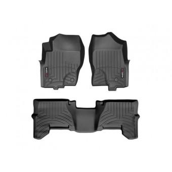 Коврики WEATHERTECH для Nissan Pathfinder, цвет черный