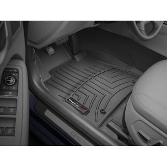 Коврики WEATHERTECH для Genesis G90, цвет черный (All Wheel Drive)