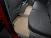 Коврики WEATHERTECH для Toyota Tacoma задние, цвет бежевый для Double Cab с 2008 г.