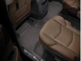 """Коврики WEATHERTECH для Cadillac Escalade ESV II ряд, цвет """"COCOA"""" подходят для Bench Seating и для Bucket Seating"""