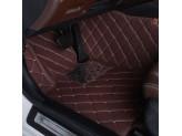 """""""Кожаные"""" коврики в салон  (высокосортный полиуретан, доступные цвета к заказу бежевый, серый, коричневый, кофе, оранжевый, фиолетовый и красный) в салон, цвет черный 2011-2016 г., изображение 5"""