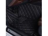 """""""Кожаные"""" коврики в салон  (высокосортный полиуретан, доступные цвета к заказу бежевый, серый, коричневый, кофе, оранжевый, фиолетовый и красный) в салон, цвет черный 2011-2016 г., изображение 6"""