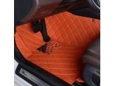 """""""Кожаные"""" коврики в салон  (высокосортный полиуретан, доступные цвета к заказу бежевый, серый, коричневый, кофе, оранжевый, фиолетовый и красный) в салон, цвет черный 2011-2016 г., изображение 7"""