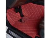 """""""Кожаные"""" коврики в салон  (высокосортный полиуретан, доступные цвета к заказу бежевый, серый, коричневый, кофе, оранжевый, фиолетовый и красный) в салон, цвет черный 2011-2016 г., изображение 9"""