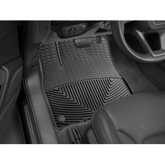 Коврики WEATHERTECH для Audi Q7, Q8, резиновые, передние, цвет черный