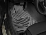Коврики WEATHERTECH для BMW 6-Series, резиновые, передние, цвет черный