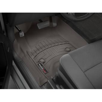 """Коврики WEATHERTECH для Cadillac Escalade передние, цвет """"COCOA"""""""