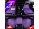 """""""Кожаные"""" коврики из высокосортного полиуретана для Hummer H2 в салон, цвет черный, изображение 3"""