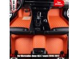 """""""Кожаные"""" коврики из высокосортного полиуретана для Hummer H2 в салон, цвет черный, изображение 2"""