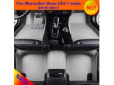 """""""Кожаные"""" коврики из высокосортного полиуретана для Hummer H2 в салон, цвет черный, изображение 5"""